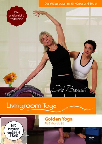 "Golden Yoga Set - dicke Relax Plus Matte 7 mm | DVD ""Golden Yoga"""