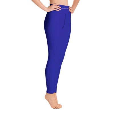 Yoga Leggings Mom - Blau