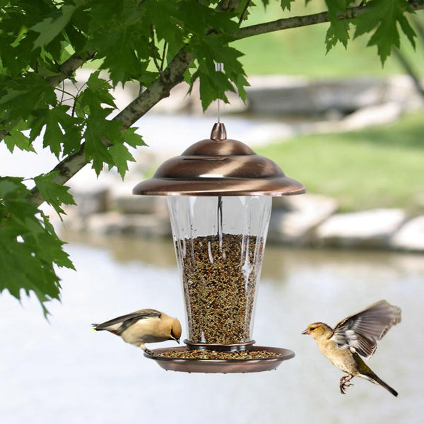 Backyard Habitat - 18*29cm The Bird Feeder Park Garden Home Bird Feeders Outdoor Rearing Birds Bird Feeder Supplies Free Shipping