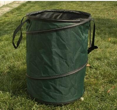 Garden Tools - Garden Waste Bin For Collecting Leaves And Grasses -  Fold-able Trash Can