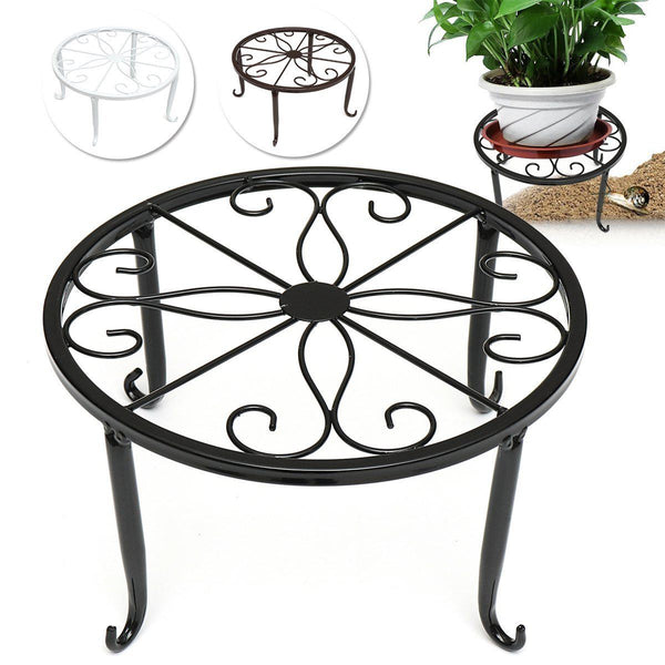 INDOOR GARDEN - Metal Iron Plant Pot Stand