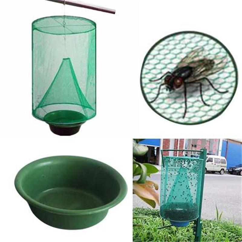 Pest & Disease Controls - Folding Mosquito / Fly Capture Catching  Mesh Hanging Trap