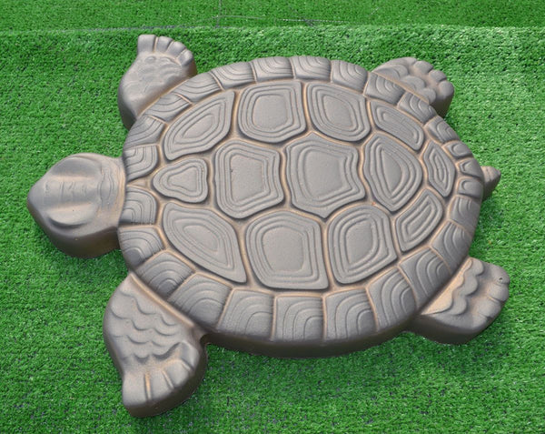 Yard & Garden Decor - Turtle Stepping Stone Mold Concrete Cement Mold