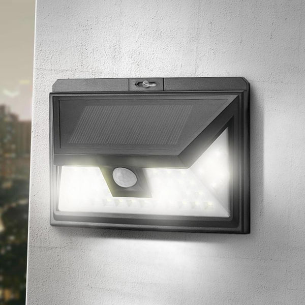 YARD & OUTDOORS - 44 LED Solar Light Outdoor Waterproof Garden PIR Motion Sensor Solar Power LED Wall Light Emergency Solar Lamp Pathway Decor