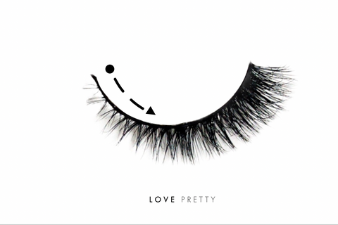 Customize Love Pretty Lashes for Petite Eyes
