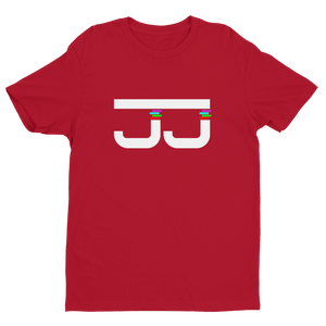 JJ Premium White Logo Short Sleeve T-shirt