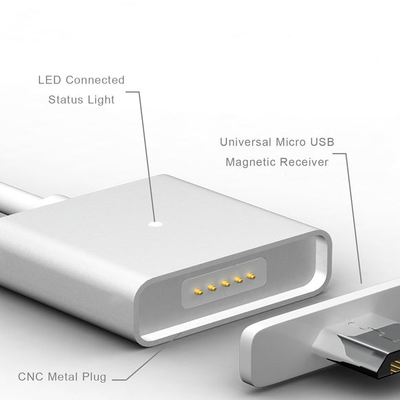 Micro USB Magnetic Cable