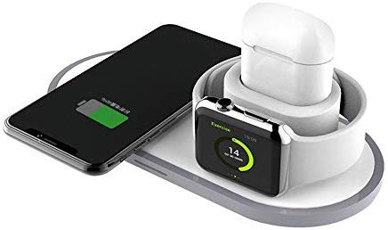 EARLDOM WIRELESS CHARGER 3IN1 10W FAST CHARGING