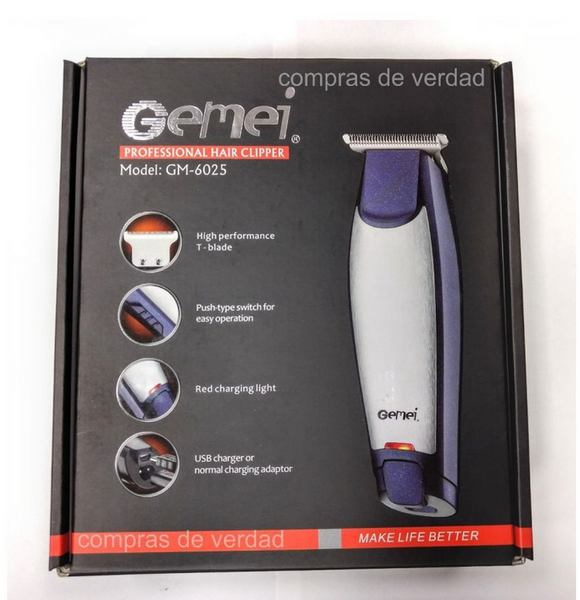 GEEMY PROFESSIONAL HAIR CLIPPER GM-6025