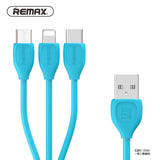 Remax data cable 3in1 RC-050th