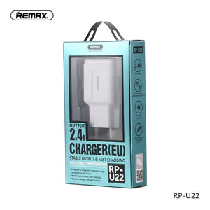 REMAX CHARGER+DATA CABLE 2.4A RP-U22