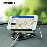 Remax LETTO CAR HOLDER  WITH 3IN1 MAGNETIC CHARGNING CABLE RC-FC2