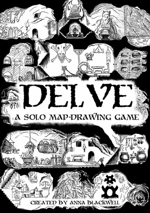 DELVE: A Solo Map Drawing Game + PDF