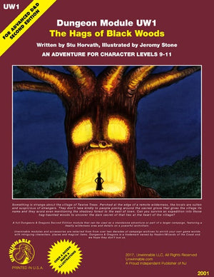 UW1 - THE HAGS OF BLACK WOODS