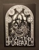 Exalted Funeral Stickers