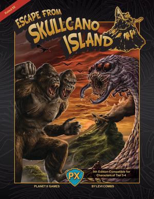Escape from Skullcano Island