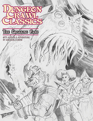 Dungeon Crawl Classics #77: The Croaking Fane – Sketch Cover