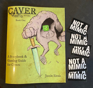 Caver & Cube: Book One - Limited Edition, SIGNED