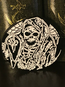 Exalted Funeral Pin