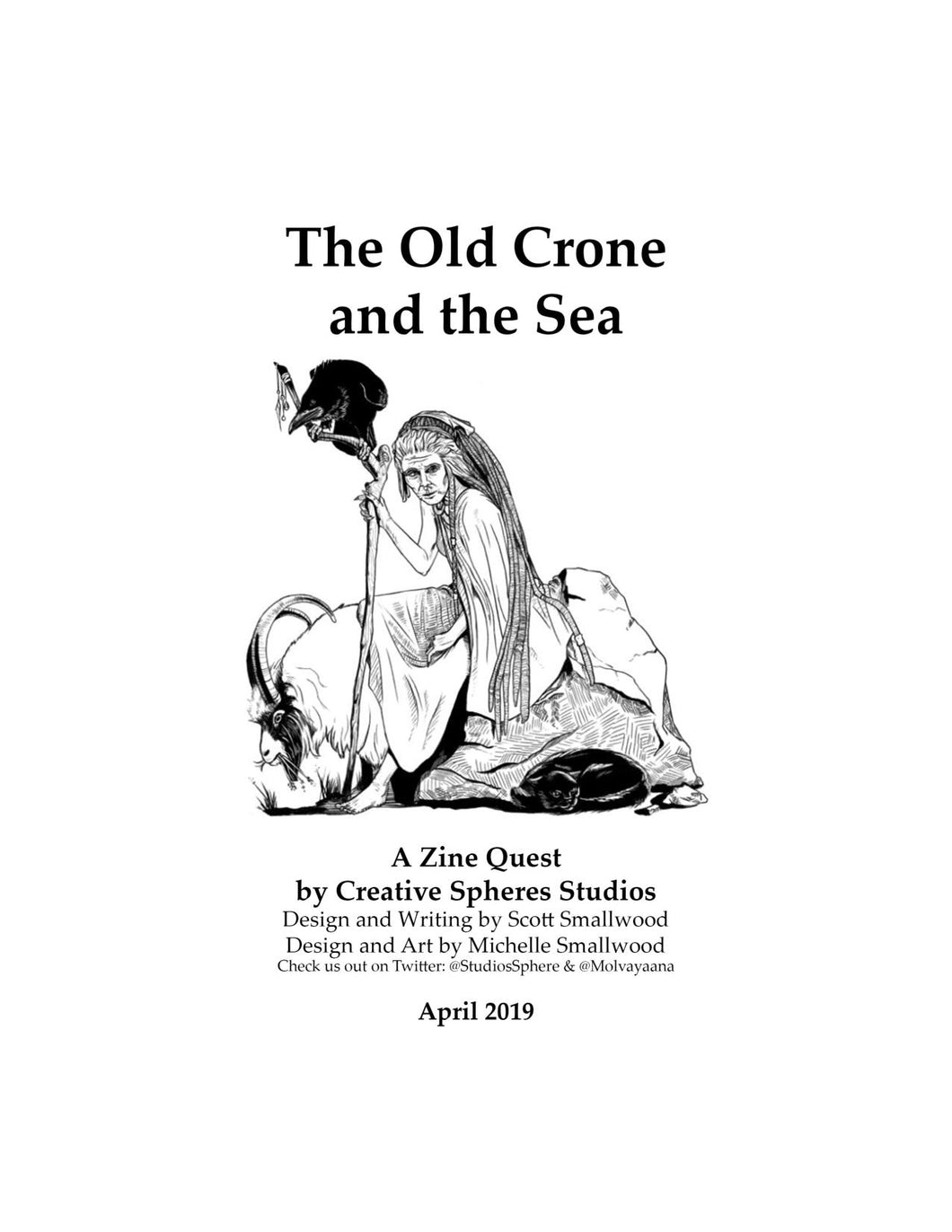 Old Crone and the Sea