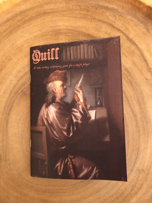 Quill: A Letter-Writing Roleplaying Game for a Single Player
