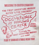 Occurence at Howling Crater BARF BAG