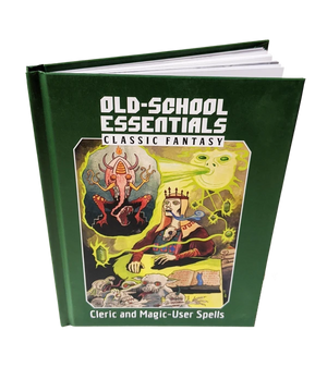 Old-School Essentials Classic Fantasy: Cleric and Magic-User Spells