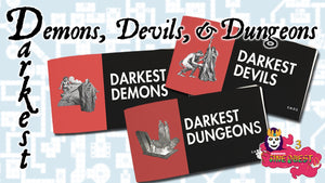 Darkest Demons, Devils, and Dungeons Zine Bundle + PDF