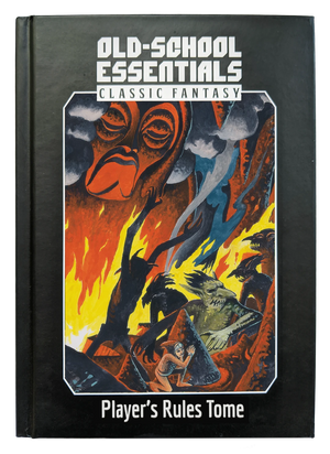 Old-School Essentials Player's Rules Tome