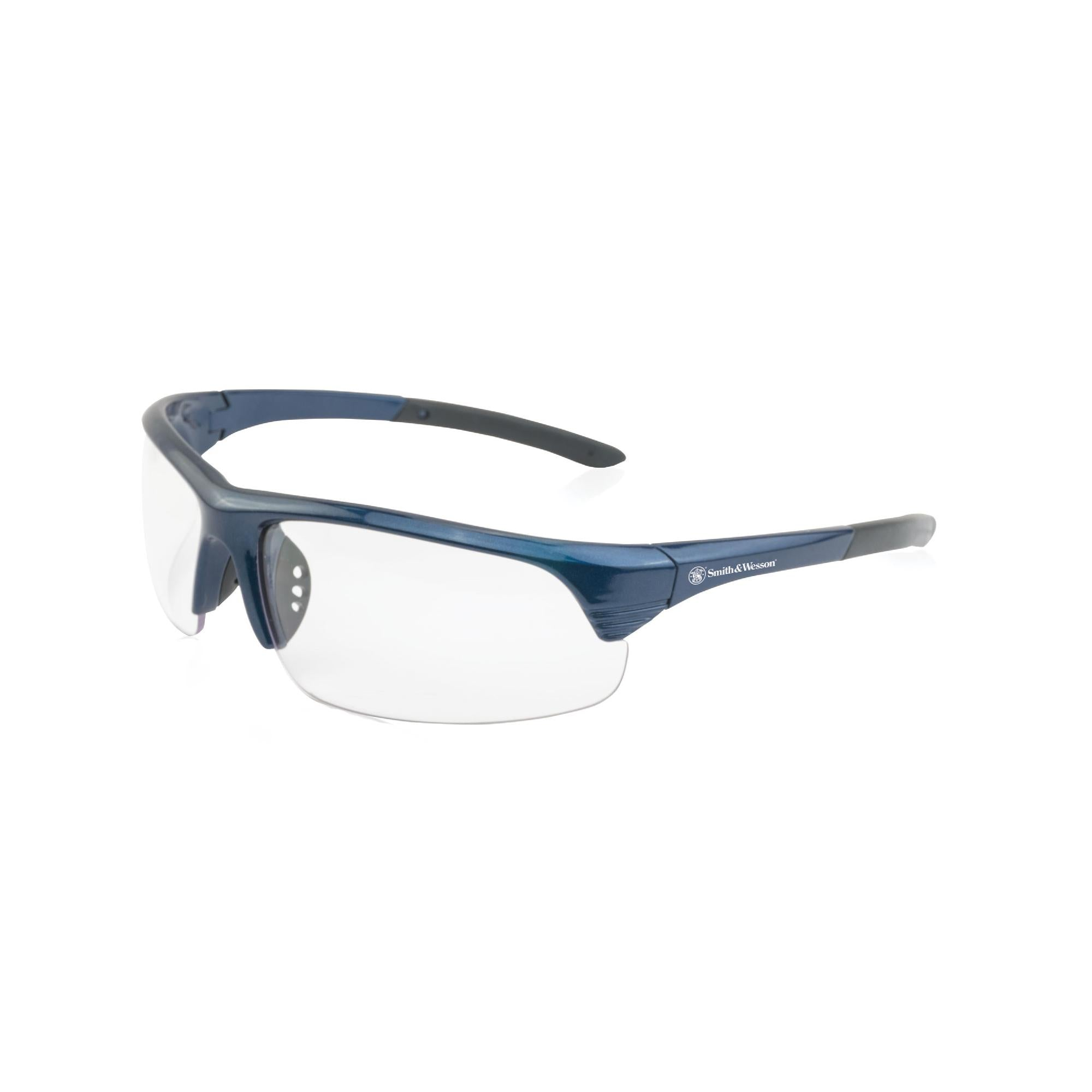 Corporal Shooting Glasses - Blue Frame, Clear Lens