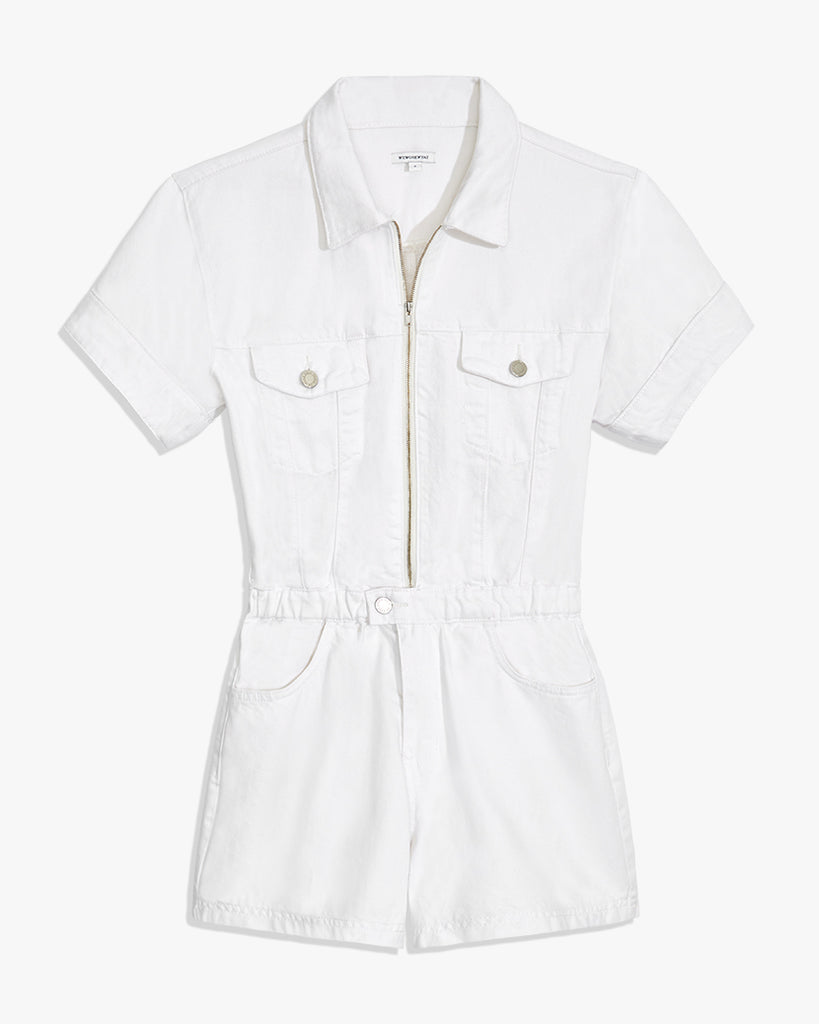 Flight Denim Romper