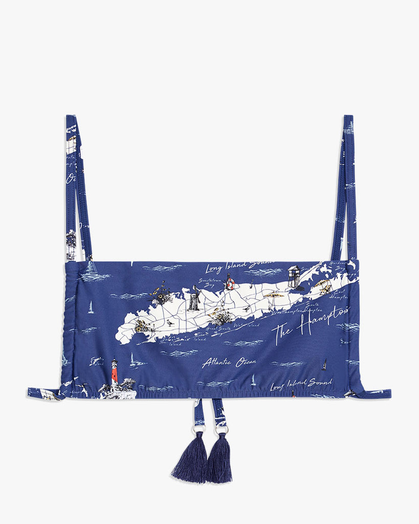 Hamptons Map Navy
