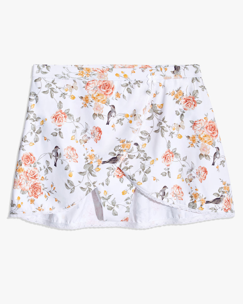 Floral Toile White