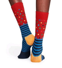 Load image into Gallery viewer, HAPPY SOCKS | RED | BLUE | TRENDY