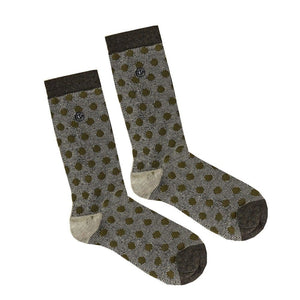 FAT FACE SOCKS | BIG POLKA DOT | GREEN