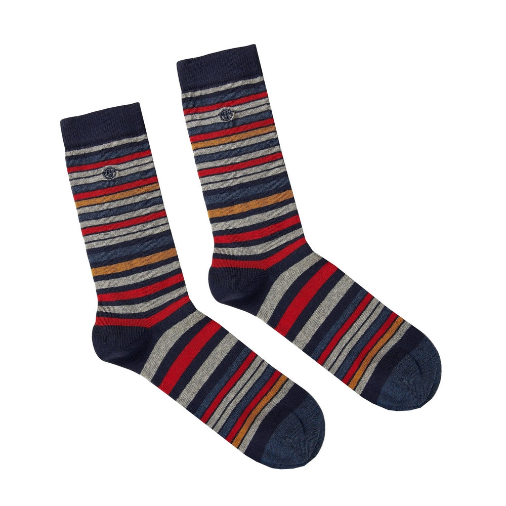 FAT FACE SOCKS | RICH STRIPE | GENTS CLOBBER