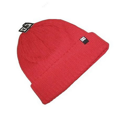 DC SHOES BEANIE HAT | RED BRIM | GENTS CLOBBER
