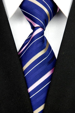 STRIPED TIE | SILK TIE | GENTS CLOBBER
