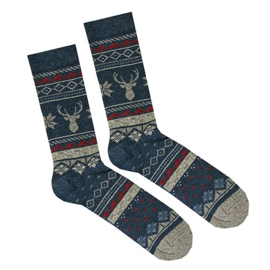 FAT FACE SOCKS | STAG | FAIRISLE | GENTSCLOBBER