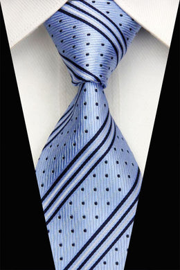 SILK TIE | STRIPES | SPOT | GENTS CLOBBER