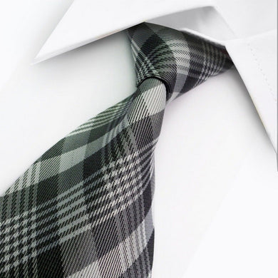 MULTI GREY STRIPE TIE | SILK TIE | GENTS CLOBBER