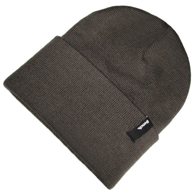 BENCH BEANIE HAT | CHARCOAL GREY | GENTS CLOBBER
