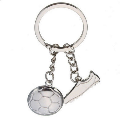 Football Boot Soccer Keyring