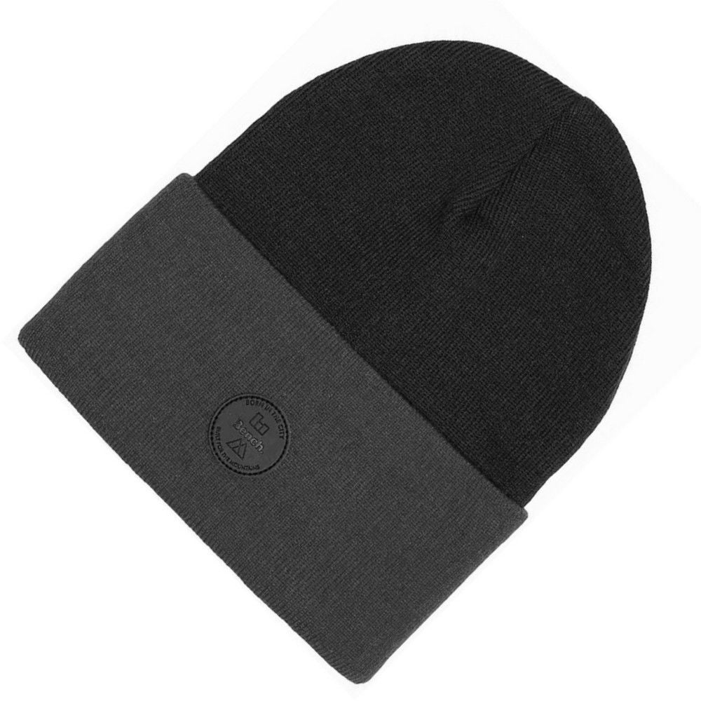BENCH BEANIE HAT | TURN UP BRIM | GENTS CLOBBER
