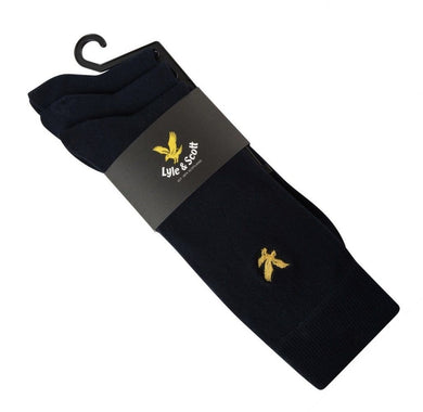 LYLE & SCOTT SOCKS | BLACK SOCKS | GENTS CLOBBER