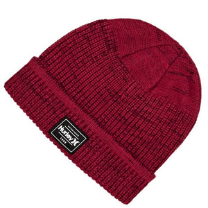 HURLEY BEANIE HAT | RED ONE SIZE | GENTS CLOBBER