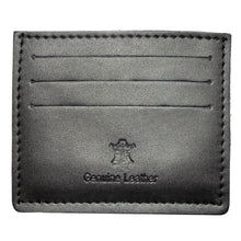 Load image into Gallery viewer, CREDIT CARD WALLET | BLACK LEATHER | GENTS CLOBBER