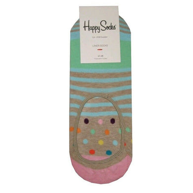 HAPPY SOCKS | INVISIBLE | NO SHOW | GENTS CLOBBER