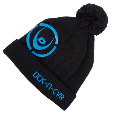 DUCK AND COVER BOBBLE HAT | BLACK | GENTS CLOBBER