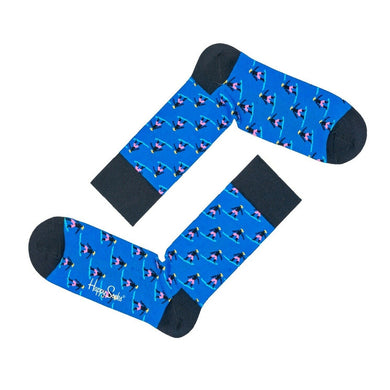 HAPPY SOCKS | SURFER | BLUE | GENTS CLOBBER